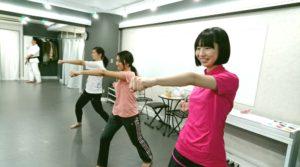吉祥寺 レンタルスタジオ ガレージ 女性空手 空手教室